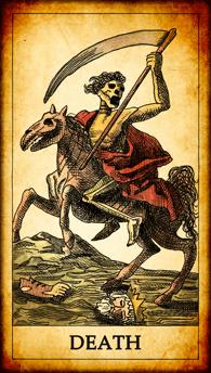 "Tarot card ""Death"""