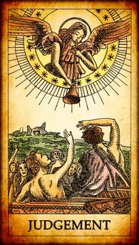 """Tarot card """"Judgement"""""""