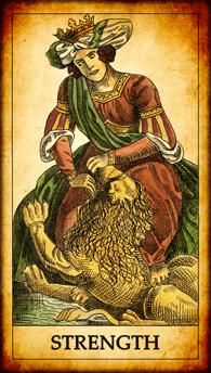 """Tarot card """"Strength"""""""