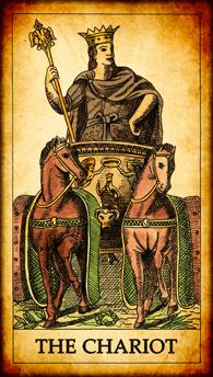 """Tarot card """"The Chariot"""""""