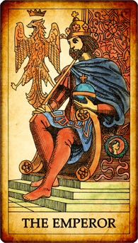 "Tarot card ""The Emperor"""