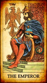 """Tarot card """"The Emperor"""""""