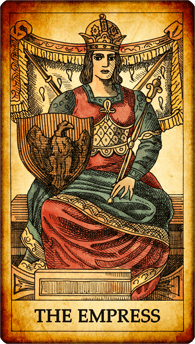 "Tarot card ""The Empress"""