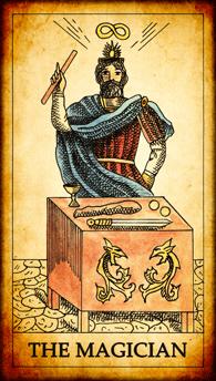 """Tarot card """"The Magician"""""""