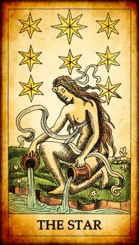 """Tarot card """"The Star"""""""
