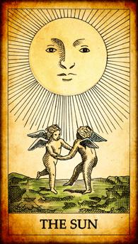 """Tarot card """"The Sun"""""""