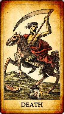 "Tarot card ""Death"""