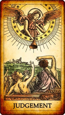 "Tarot card ""Judgement"""