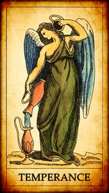 """Tarot card """"Temperance"""""""