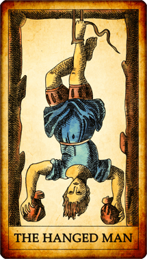 "Tarot card ""The Hanged Man"""