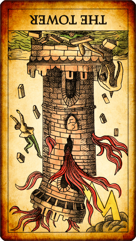 The Tarot has told me: The Tower reversed advises you to