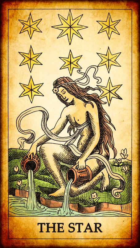 Resultado de imagem para star tarot
