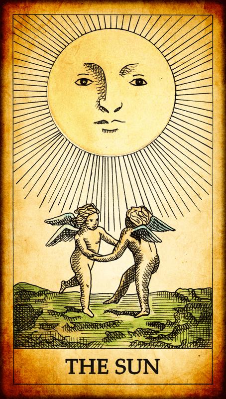 Resultado de imagem para sun tarot