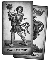 Cups Cards of the Tarot