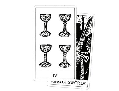 Archetypes Dark Tarot - Minor Arcana