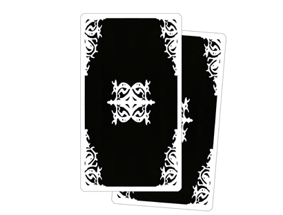Archetypes Dark Tarot - Back of the Cards