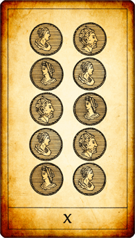 10 of Coins
