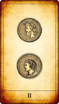 2 of Coins