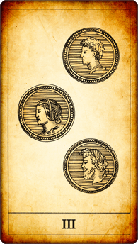 3 of Coins