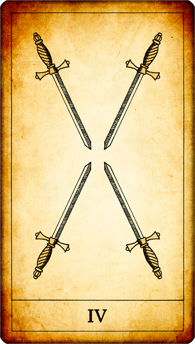 4 of Swords
