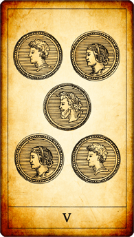 5 of Coins