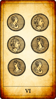 6 of Coins