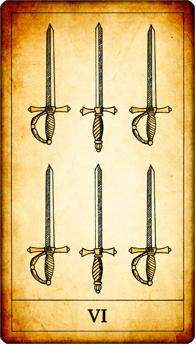 6 of Swords