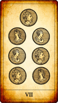 7 of Coins