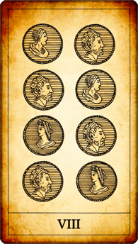 8 of Coins