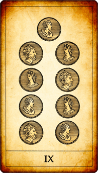9 of Coins