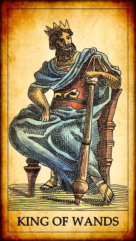 Resultado de imagen para king of wands