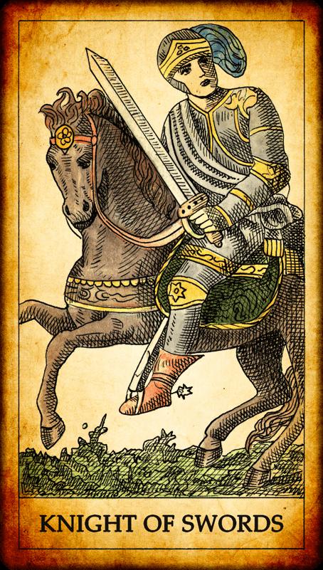 The Suit of Swords in the Tarot