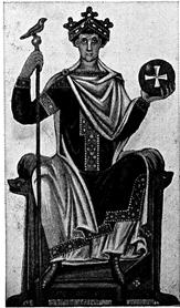 The Emperor of the Tarot